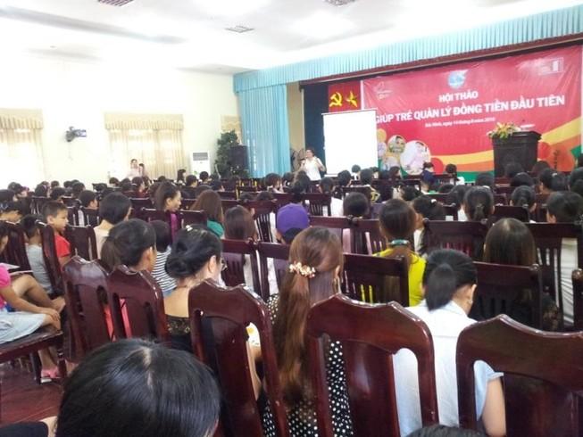 Home Credit tổ chức hội thảo về tài chính cho trẻ