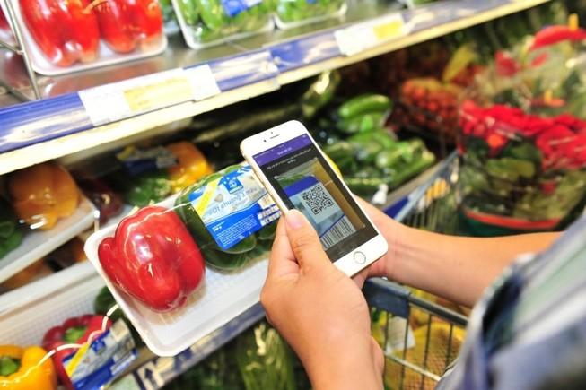 Truy xuất nguồn gốc sản phẩm bằng smartphone