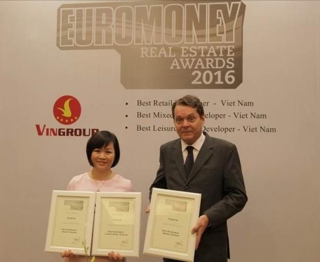 """Vingroup được tôn vinh """"tốt nhất tại Việt Nam""""  """