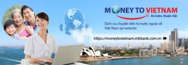 Chuyển kiều hối online từ nước ngoài về Việt Nam