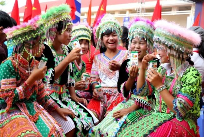 Vinamilk đến với trẻ em Đắk Nông