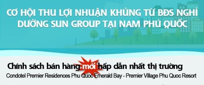 Cơ hội sinh lời với bất động sản nghỉ dưỡng Sun Group