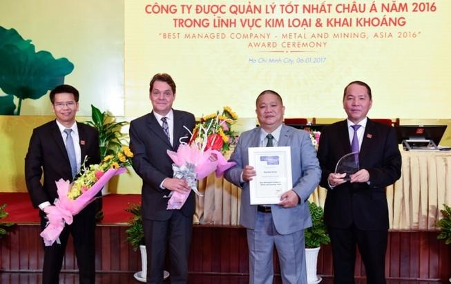Tập đoàn Hoa Sen: Công ty quản lý tốt nhất châu Á