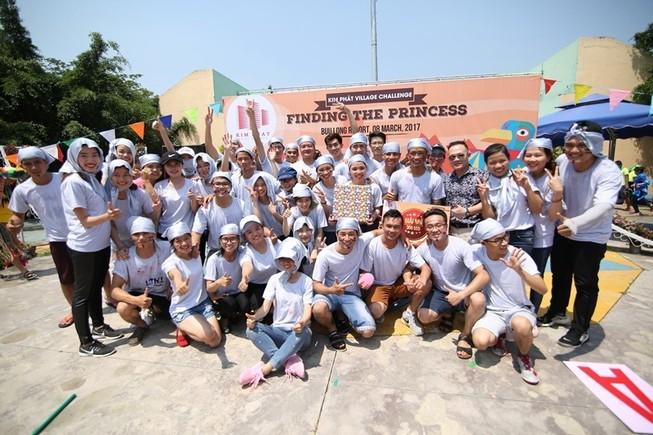"""Kim Phát tổ chức Team Building """"vui chơi thả ga"""""""
