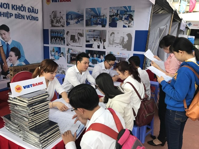 Vietbank tham gia Ngày Hội việc làm tại Đại học Cần Thơ