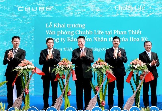 Công ty bảo hiểm nhân thọ Chubb Life mở rộng mạng lưới tại tỉnh Bình Thuận