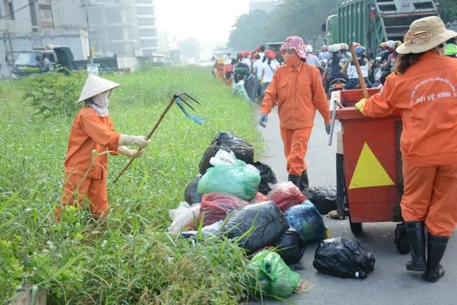 Quyết tâm phân loại chất thải rắn sinh hoạt tại nguồn