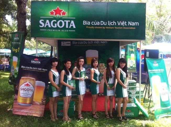 Sagota đưa thương hiệu bia Việt ra thế giới