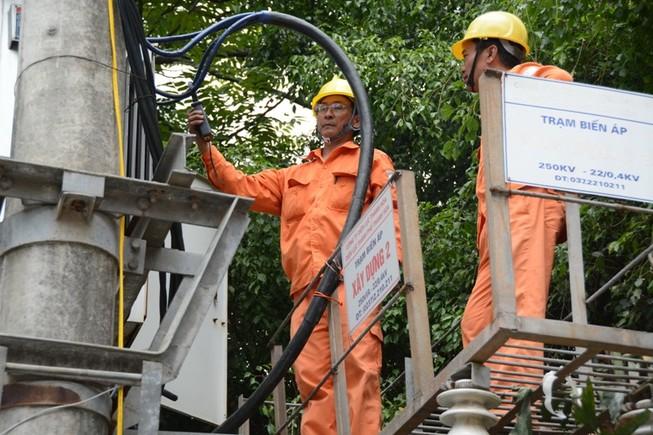 Điện thương phẩm của EVNNPC tăng gần 12%