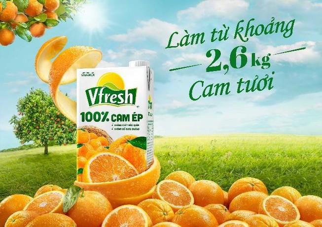 """Vfresh: nước ép thương hiệu Việt """"Thơm ngon, đậm đà"""""""