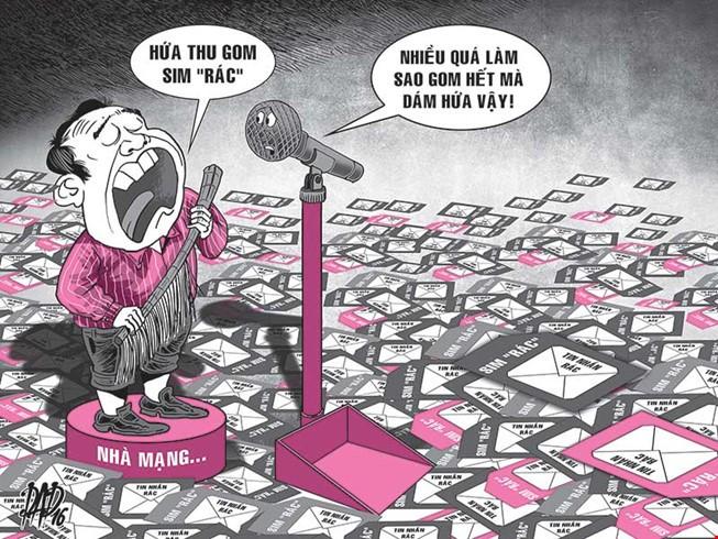 SIM rác vẫn bán công khai: Trách nhiệm nhà mạng ở đâu?
