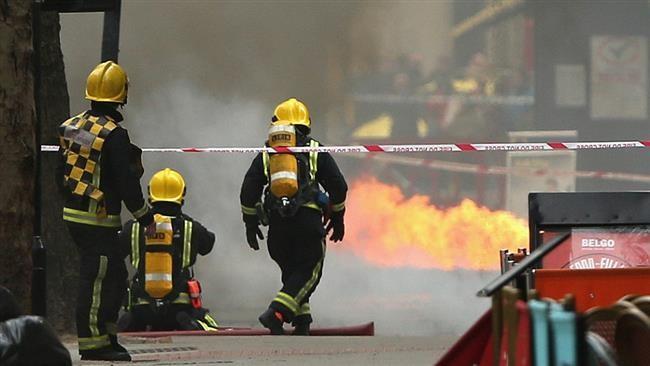 Cháy lớn dưới lòng đất, sơ tán hơn 2.000 người