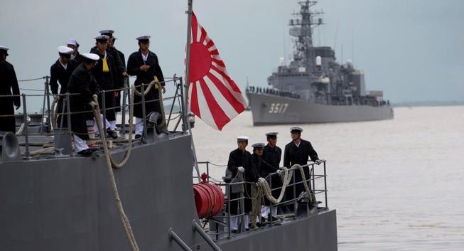 Hoa Kì giúp Nhật Bản đẩy mạnh quân sự ở Thái Bình Dương
