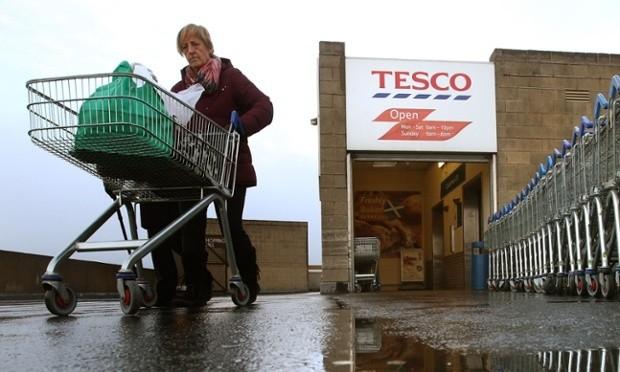 Đại gia siêu thị Tesco thất thu kỷ lục 6,4 tỷ bảng Anh