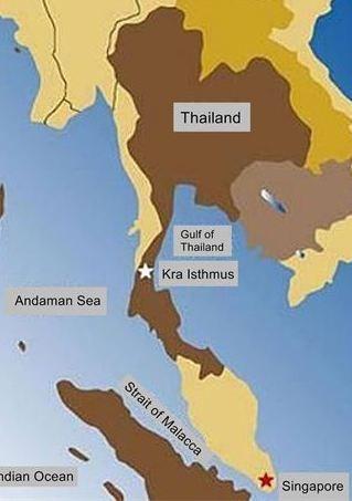 Thái Lan phủ nhận việc xây dựng kênh đào chung với Trung Quốc