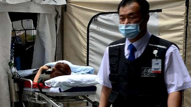 Chùm ảnh cúm Trung Đông 'tấn công' Hàn Quốc