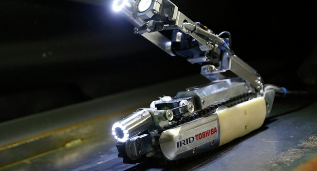 Robot thăm dò nhà máy hạt nhân Fukushima
