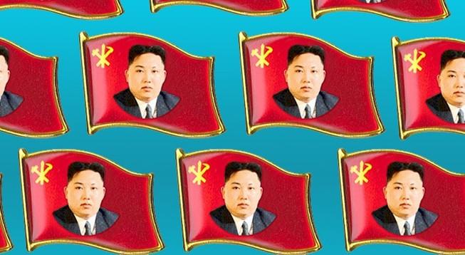 Triều Tiên in hình lãnh đạo Kim Jong-un lên huy hiệu