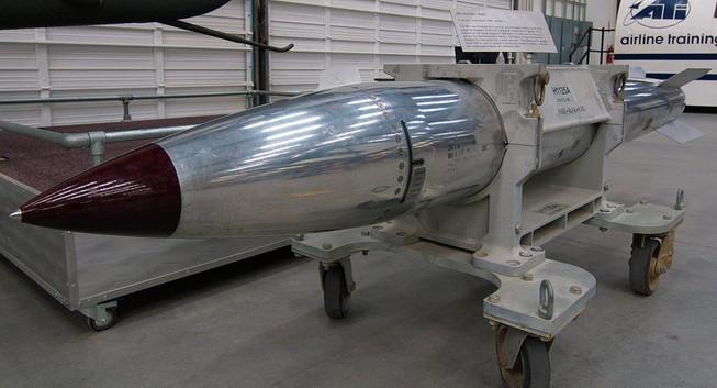 Quân đội Hoa Kì thử nghiệm thành công bom trọng lực hạt nhân