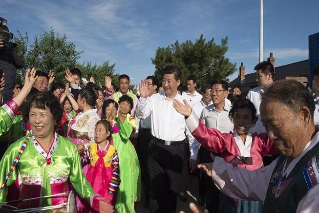 Ông Tập Cận Bình thăm vùng biên giới 'nhạy cảm' với Triều Tiên