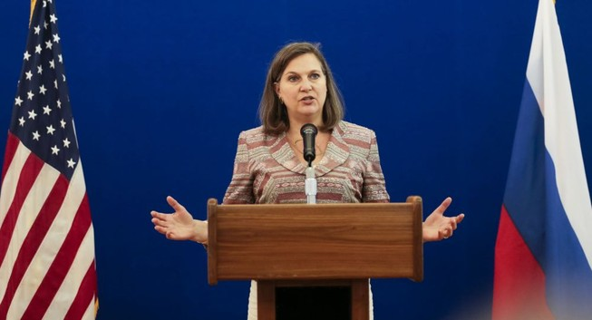 Mỹ dọa tăng cường áp lực với Nga nếu xung đột Ukraine leo thang