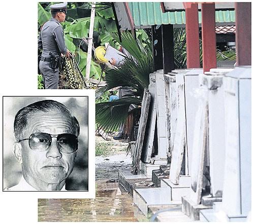 Nghi án Thống chế Không quân Thái tự sát trong chùa