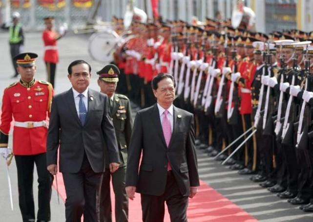 Việt Nam - Thái Lan kêu gọi đảm bảo cam kết DOC ở biển Đông