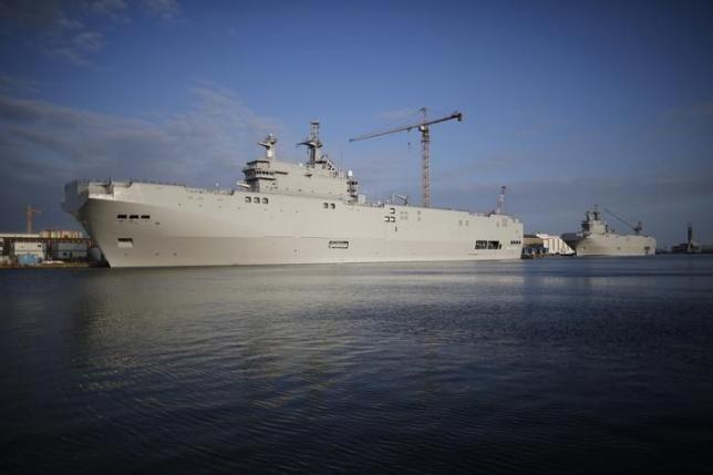 Pháp hoàn trả gần 1,3 tỷ USD cho Nga trong vụ tàu chiến