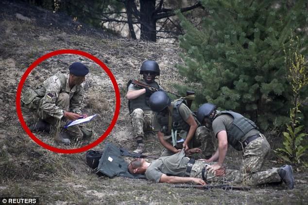 Anh tăng cường huấn luyện binh sĩ Ukraine chống quân miền đông
