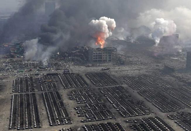Nga đề nghị hỗ trợ Trung Quốc sau vụ nổ Thiên Tân