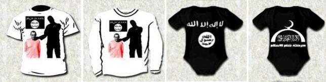 Tây Ban Nha bắt người bán áo thun tuyên truyền cho IS