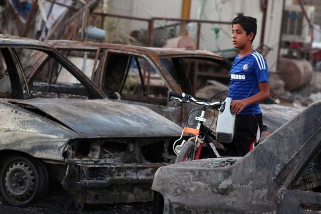 Đánh bom hàng loạt ở thủ đô Iraq, 24 người chết