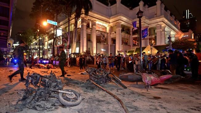 Lại thêm một vụ nổ tại Thủ đô Bangkok