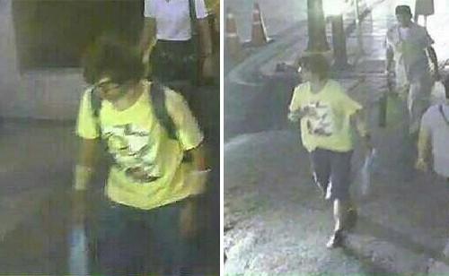 Lộ diện nghi phạm đánh bom Bangkok