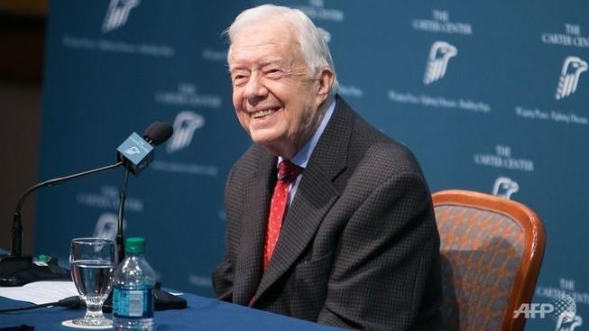 Có 4 khối u trong não cựu Tổng thống Jimmy Carter