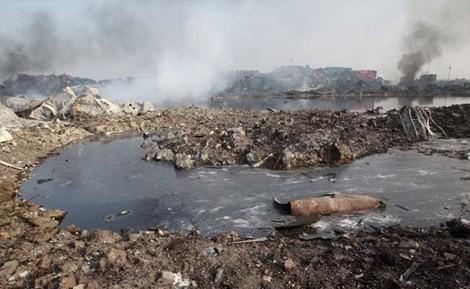 Thêm 4 đám cháy mới bùng phát tại 'hỏa ngục' Thiên Tân