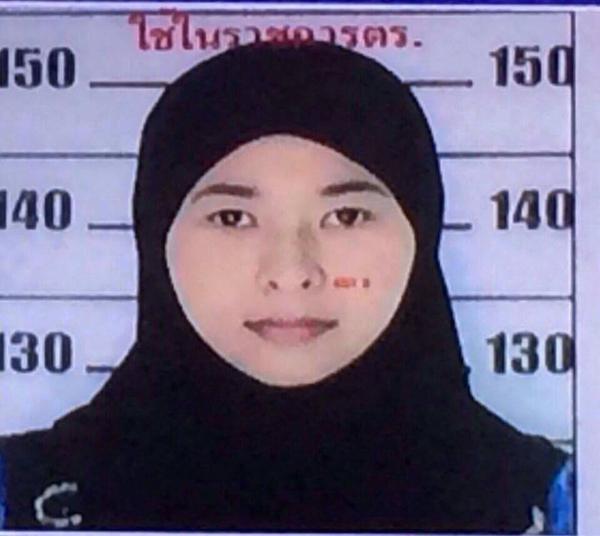 Nữ nghi phạm đánh bom Bangkok bị truy nã lên tiếng