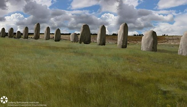 Phát hiện bãi đá cổ 4.500 tuổi giống Stonehenge