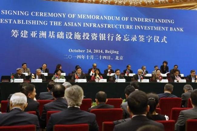 Trung Quốc: AIIB thu hút thêm hơn 20 nước