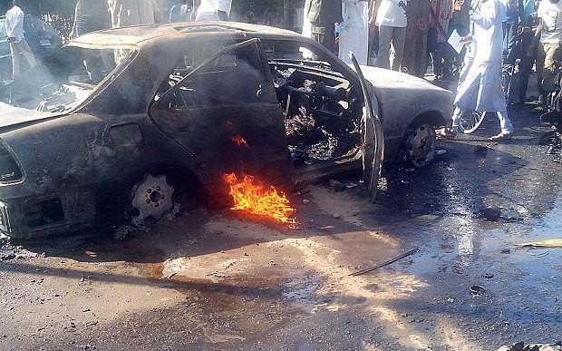 Ba vụ nổ 'chấn động' Nigeria
