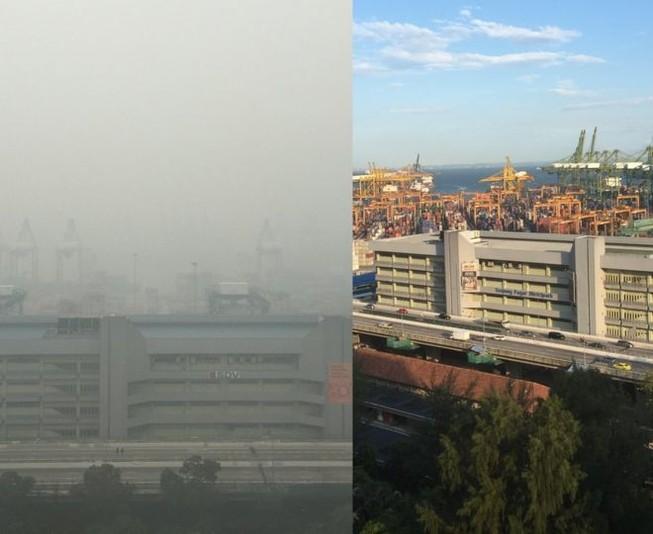 Khói bụi từ Indonesia khiến Singapore ô nhiễm nặng