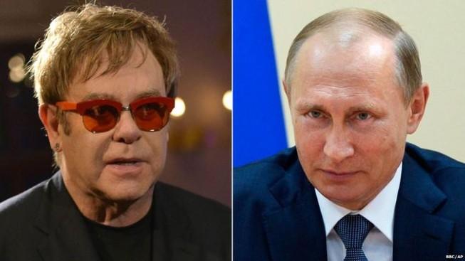 Putin sẽ gặp Elton John để 'nói chuyện' về quyền của người đồng tính?