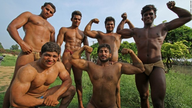 Ngôi làng của những đàn ông 'sáu múi'
