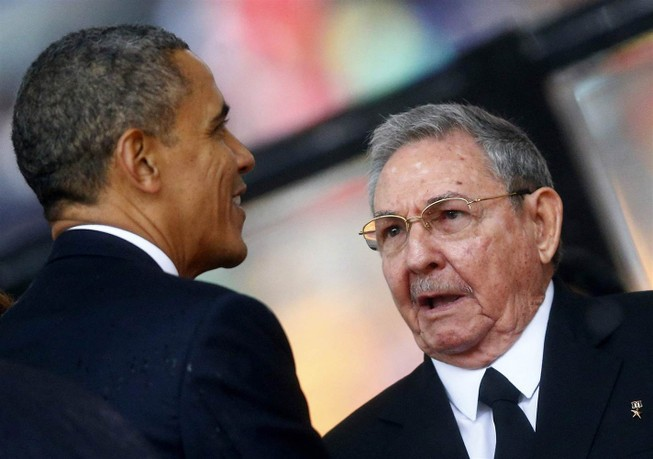 Tổng thống Obama chuẩn bị gặp chủ tịch Cuba lần thứ hai
