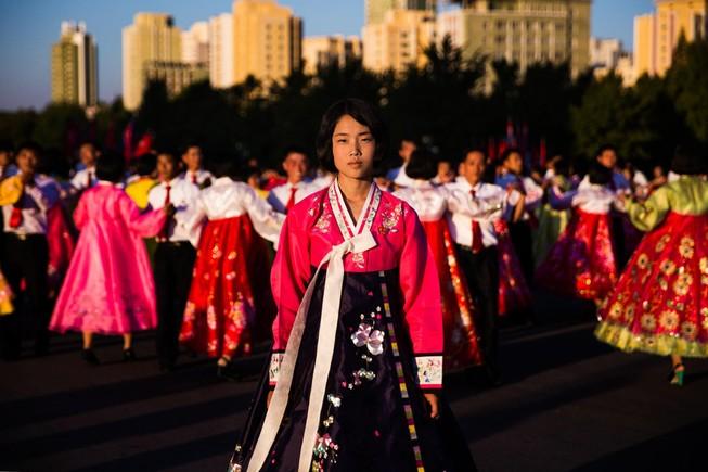 Bộ ảnh: Vẻ đẹp mộc mạc của những cô gái Triều Tiên