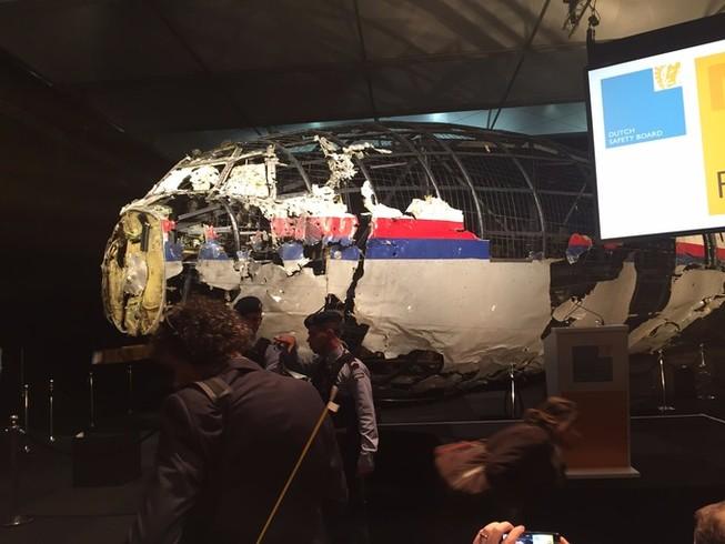 Hà Lan kết luận MH17 bị tên lửa của Nga sản xuất bắn rơi