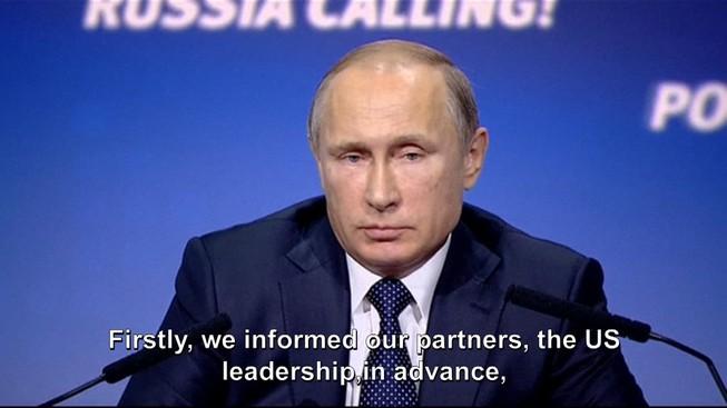 Ông Putin: 'Mỹ không muốn hợp tác với Nga chống IS'