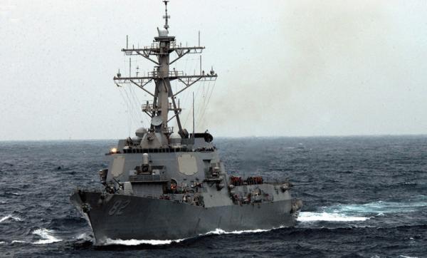 Chiến hạm Mỹ áp sát đảo nhân tạo Trung Quốc ở đá Subi