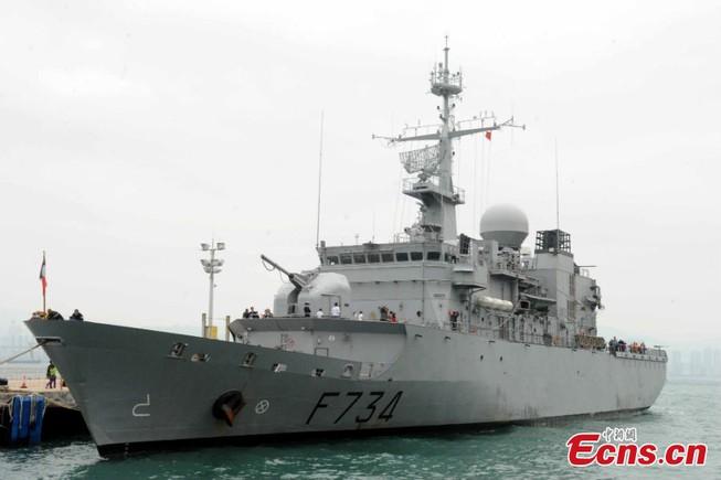 Tàu chiến Pháp thăm Trung Quốc ngay sau Mỹ tuần tra biển Đông