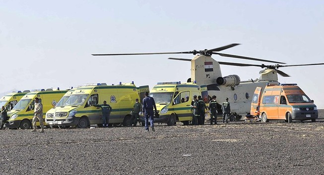 Ireland giúp Nga điều tra vụ máy bay chở 224 người rơi